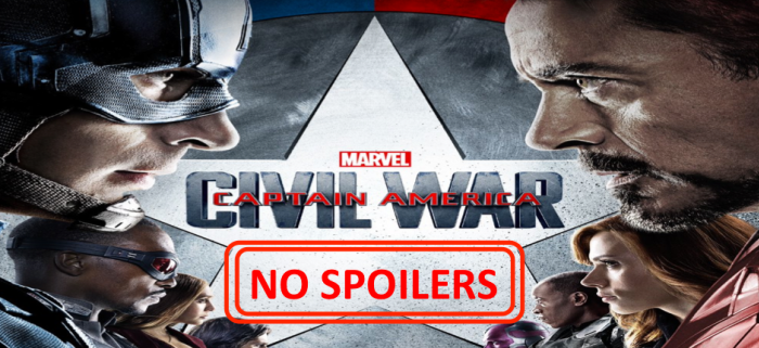 Captain America Civil War No Spoilers
