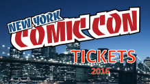 NYCC 2016 Tickets