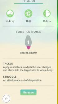 Pokemon Go Evolution Shard