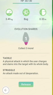 Pokemon Go Evolution Shard