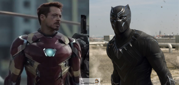 Captain America Civil War Ironman vs Black Panther