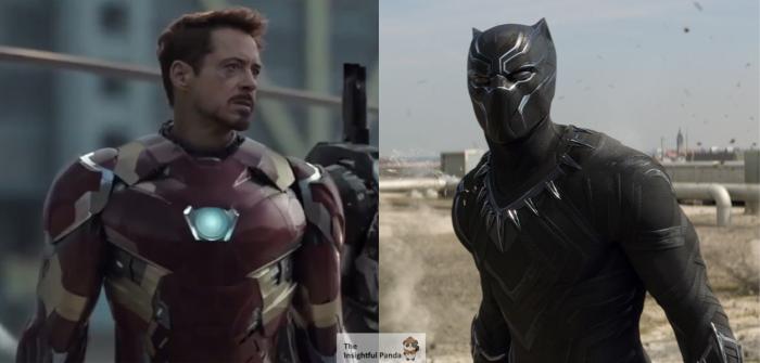 Captain America Civil War Ironman vs Black Panther