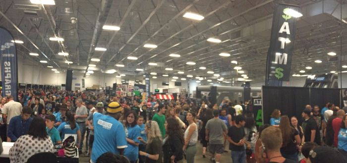 Heroes Villains Fan Fest NJ NY 2016 Crowd