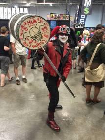 Heroes Villains Fan Fest NJ NY 2016 Genderbent Harley Quinn Cosplay Sam Gras