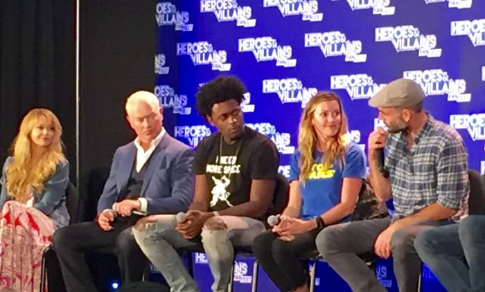 Heroes Villains Fan Fest NJ NY 2016 Panel