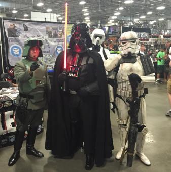 Heroes Villains Fan Fest NJ NY 2016 Star Wars Cosplay