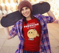 fuzzballs-shirt-cute-model